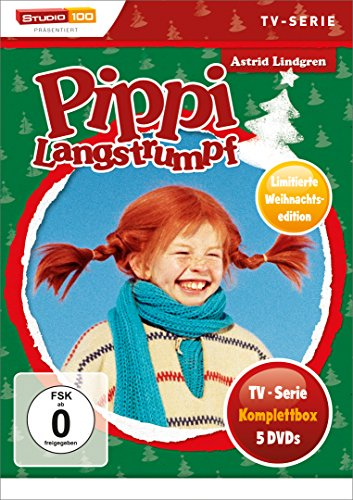 Pippi Langstrumpf - TV-Serien-Box (Special Edition) (5 DVDs)