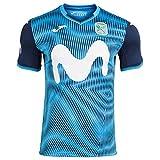 Joma Movistar Inter FS Primera Equipación 2020-2021, Camiseta, Turquesa, Talla S