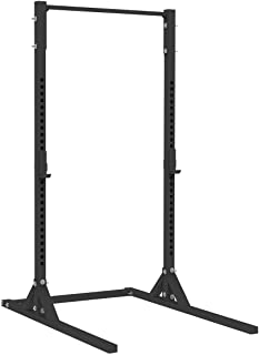 X Training Equipment X-2 Elite Series Squat Stand with Pull-up Bar & J-Cups - Rated for 1,000 lbs