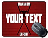 BRGiftShop Customize Your Own Superhero Series: Maximum Effort Mouse Pad