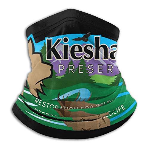 Genertic Kesha Alta Elasticità Moda Microfibra Collo Caldo Maschera Viso Sciarpa Unisex Antivento Antipolvere