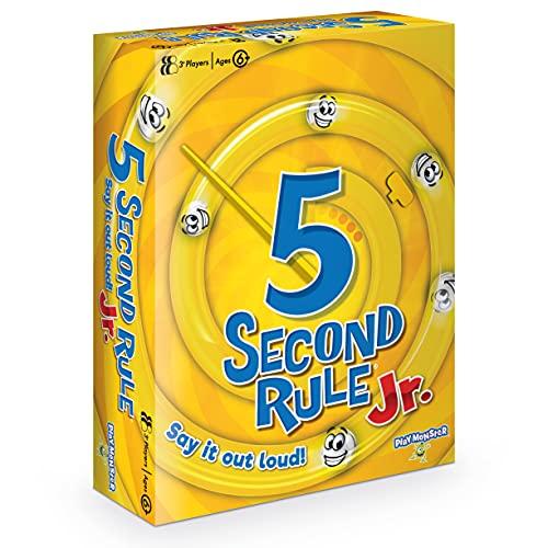 PlayMonster GF002 5 Second Rule Junior Family Card Game, Mul