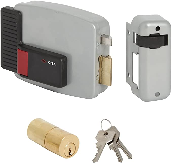 Cisa 11560-10 Serratura Elettrica per Cancello 14010 60 mm Entrata Destra