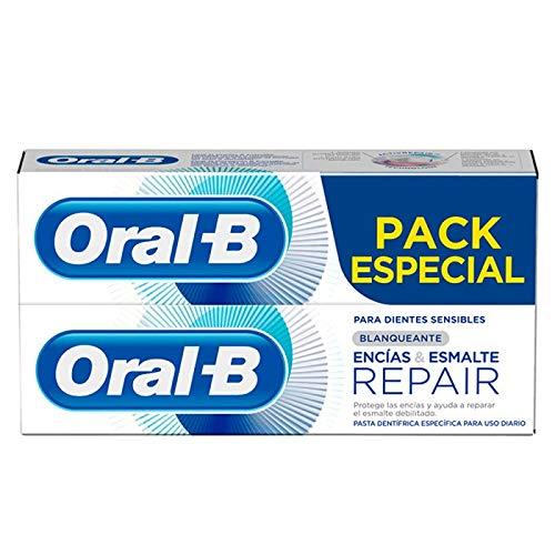 Oral-B Encías & Esmalte Repair Blanqueante Pasta Dentífrica - 2x75 ml