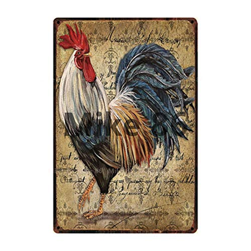 muzi928 Cartel de Chapa de Granja, Cartel de hojalata, decoración del hogar, Barra, Arte de Pared, Pintura y-2743