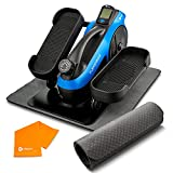 LifePro Under Desk Elliptical Trainer for Home & Office - Calf Leg Foot Pedal Exerciser - Seated Compact Elliptical Bike Machine - Core Fitness Low Impact Exercise Equipment w/Adjustable Resistance by LifePro