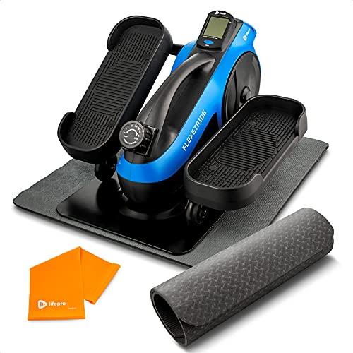 LifePro Under Desk Elliptical Trainer for Home & Office -...