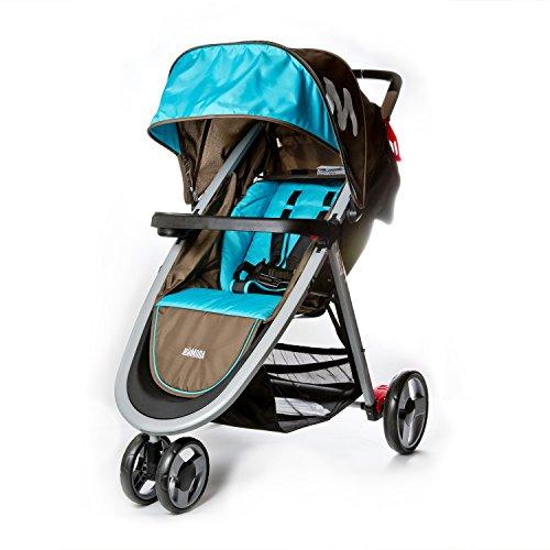 Mia Moda Elite Lightweight Stroller, Blue