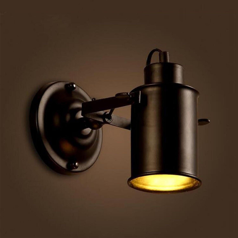 LEI ZE JUN UK- Retro Wandleuchte American Creative Persnlichkeit Wand Lampe Loft Industrial Style Bar Coffee Shop Wohnzimmer Restaurant Eisen Kunst Wand Lampe E27 E14 Wandlampe (Farbe   E)