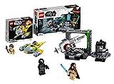 Lego 75246 Star Wars Todesstern Kanone, Bauset, Mehrfarbig + LEGOStar Wars 75223 Naboo Starfighter Microfighter