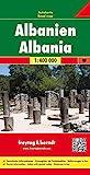 Albania 1:400.000: Wegenkaart 1:400 000: AK 9501 (Auto karte)
