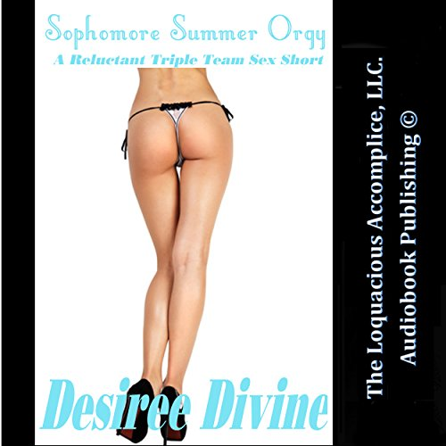 Sophomore Summer Orgy audiobook cover art