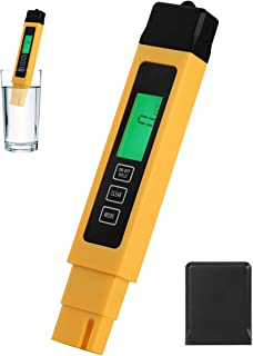 Water TDS Meter, Digital Water Quality Tester for Drinking Water, Tap Water and etc.