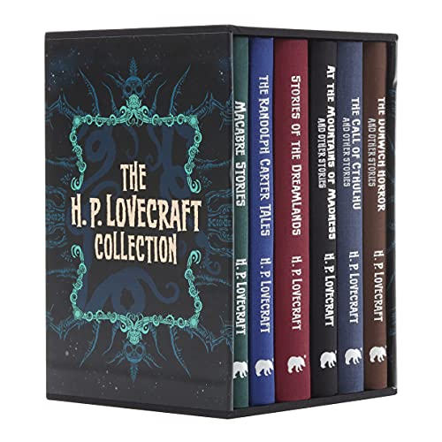 The H. P. Lovecraft Collection: Slip-Cased Edition: Deluxe 6-Volume Box Set Edition (Arcturus Collector's Classics, 3)