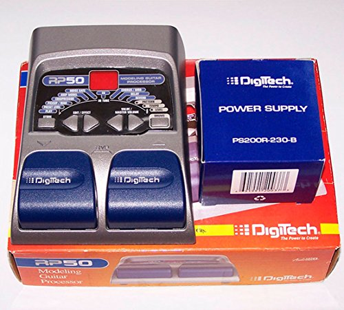 DigiTech RP50 Digital Amp Modeling Effect Unit