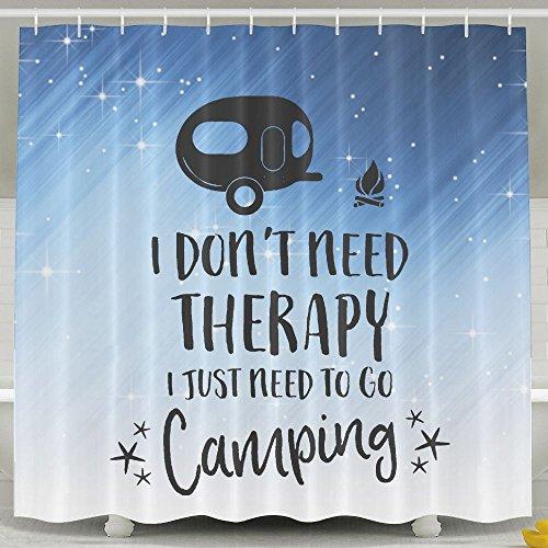 HUANGLING - Tenda da Doccia Don't Need Therapy, 152 x 183 cm