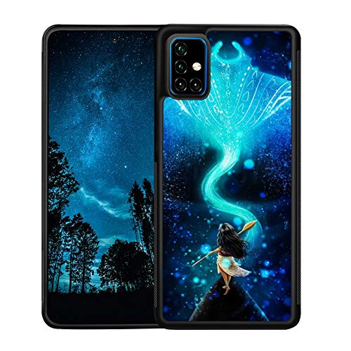 Disney Collectiondisney Collection Samsung Galaxy A51 Black Tire Tread Non Slip Phone Cover Full Body Protection Shockproof Case Moana Wallpaper Popular Shell Dailymail