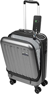 Maletas de Viaje de Cabina 55x40x20 con USB de Carga Equipaje de Mano Trolley rigida 4 Ruedas giratorias 360º candado TSA Maleta Ryanair, Grandes Resistentes Sulema