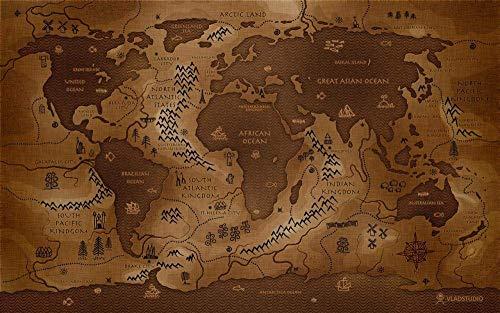 Adoff Puzzles History World Map - Puzles para adultos (1000 piezas)