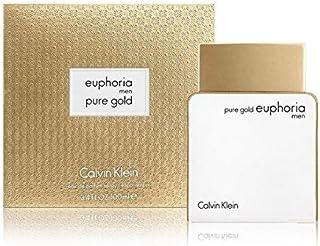 Euphorĭa Purė Gold Cologne for Men by Cąlvïn Klëin 3.4 fl. oz Eau de Parfum