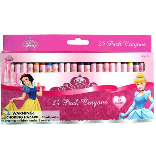 Disney Princess Crayon - Disney Princesses 24 Pack Crayons