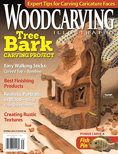 Woodcarving Illustrated Issue 62 Spring 2013 (English Edition)