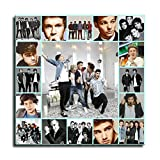 One Direction Poster sur toile 1D pour murs de chambre à coucher, salon et bureau
