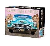 Classic Cars & Trucks 2022 Box Calendar, Daily Desktop