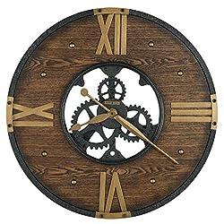 Howard Miller Galesburg Wall-Clocks, Wrought Iron