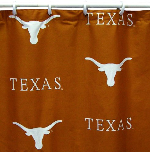 College Covers Texas Longhorns Shower Curtain Cover, 70' x...