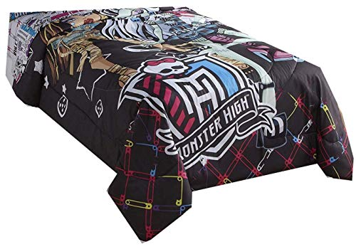 Mattel Monster High Twin Comforter All Ghouls Allowed Frankie Stein Clawdeen Wolf Draculaura