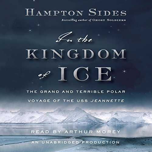 In the Kingdom of Ice audiobook cover art