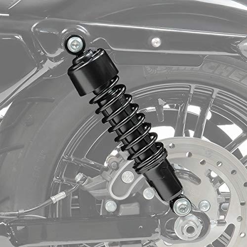 Stossdämpfer 302mm für Suzuki LS 650 Savage Tieferlegung schwarz