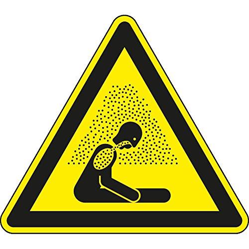 LEMAX® Warnschild Warnung vor Erstickungsgefahr, ISO, Folie, selbstklebend, SL 200mm