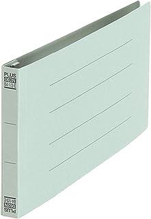 プラス フラットファイル ノンステッチ 統一伝票サイズ 180枚とじ ブルー 76-025