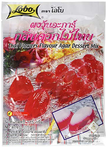 Lobo Dessertmix Blumen Agar, 12er Pack (12 x 115 g)
