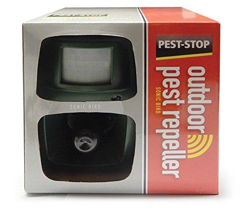 Pest-Stop psor-SB Sonic Oiseaux Répulsif extérieur – Vert