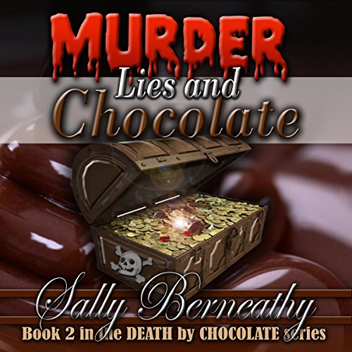 Murder, Lies and Chocolate audiobook cover art