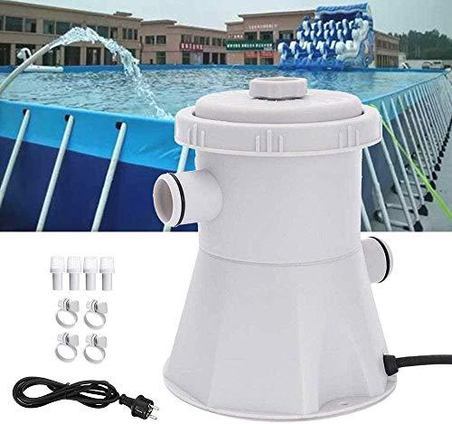 FFKL 220V Electric Swimming Pool Filter Pump, 300 GPH hot tub Pool Cleaning Filter kit circulating Filter Water Pump,Filter Pump
