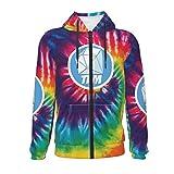Dan-TDM Kid's Zipper Hoodie Sweater Youth Fashion Sweatshirts Jacket with Pockets for Boys and Girls