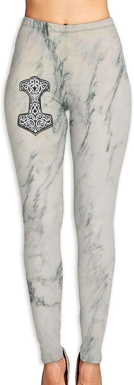 Thor's Hammer Women's 3D Digital Print High Wait Leggings Yoga W