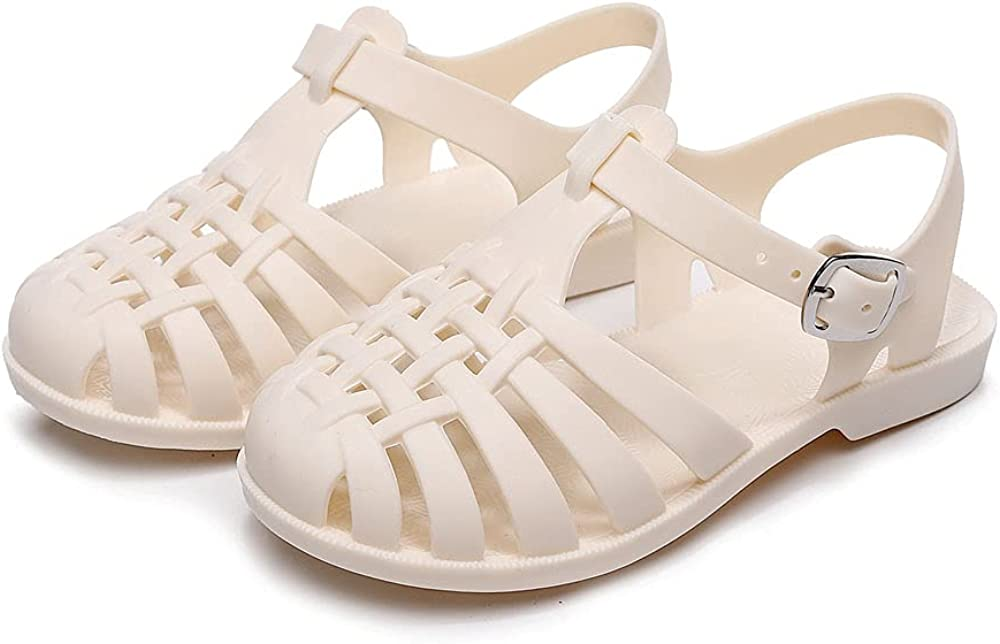 National products Kontai Isabella jelly Sandal Preschool Slip for On Girls Toddler Arlington Mall