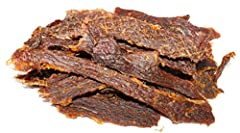 DRY & TOUGH JERKY NOT FOR EVERYONE - We craft an authentic, old-fashioned style jerky. Thick cut and dried in whole strips, this jerky has a chewy, steak-like texture; not that soft stuff. Taste the real meat flavor in each bite PERFECT SNACK FOR KET...