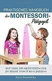 PRAKTISCHES HANDBUCH DER MONTESSORI- PÄDAGOGIK: Mit über 100 Aktivitäten für zu Hause (von 0 bis 6 Jahren) - Julia Palmarola