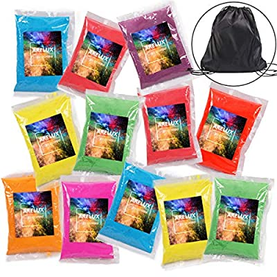 ARELUX Color Powder 12 Pack, 8 Colors Holi Powd...