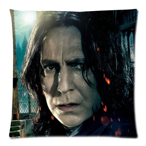 Every New Day Harry Potter Severus Snape Unique Custom Zippered Pillow Cases 18x18 inches(45x45cm) (Two sides)