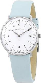 JUNGHANS - 047/4254.00 - Reloj para Mujeres, Correa de Cuero Color Azul