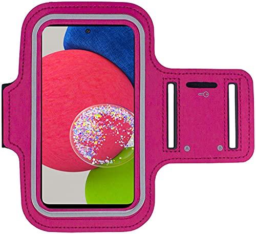 KP TECHNOLOGY Galaxy A52s 5G - Funda para pulsera Galaxy A52s 5G, para correr, ciclismo, senderismo, piragüismo, caminar, montar a caballo y otros deportes, color rosa