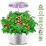 Hydroponics Growing System - Indoor Herb Garden Growing Kit - Hydroponics Growing Nutrient Pot Kit,Seeds Not Included - 4 Pots
