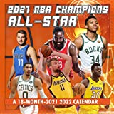 2021-2022 NBA Superstars Wall Calendar:: 18 Month Calendar, July 2021 to December 2022, With High Quality Images For NBA Lovers
